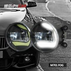 Universal LED fog light  waterproof  fog lampCOB daytime light auto light