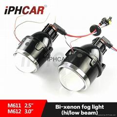 汽車/摩托車燈雙光霧燈透鏡H11氙氣燈泡