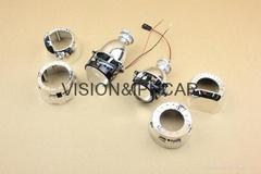2.0寸1.8寸超小透鏡HID氙氣透鏡汽車/摩托車燈