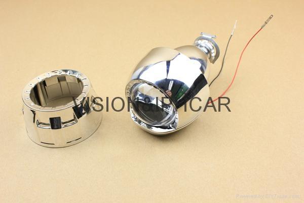 2.0寸1.8寸超小透鏡HID氙氣透鏡汽車/摩托車燈 3