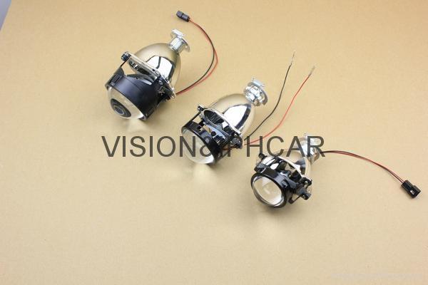 2.0寸1.8寸超小透鏡HID氙氣透鏡汽車/摩托車燈 5