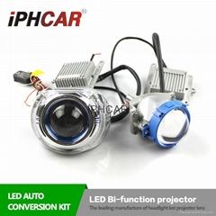 2016 New arrival LED bi-function projector lens light car light