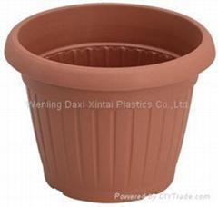 plastics flower pot