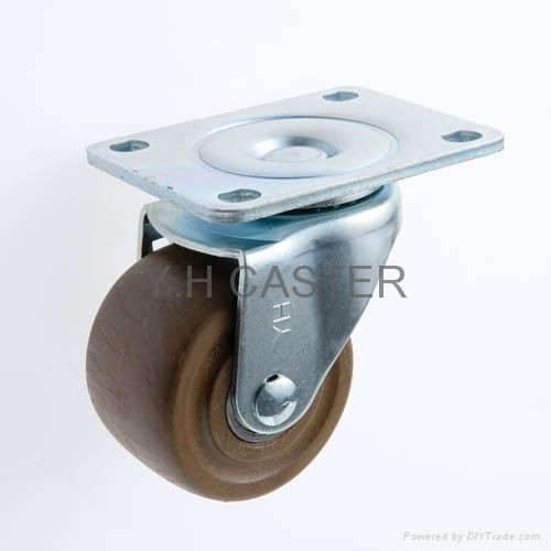 3x2 High Temperature Caster (Swivel Plate)