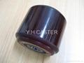 拖板车 PU轮 优力胶轮 80x70mm polyether 3