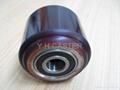 拖板车 PU轮 优力胶轮 80x90mm polyether 3