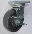 荷重導電輪子 鍛造活動腳輪 150mm