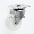 50mm Nylon Stainless Steel Caster (Swivel Plate)