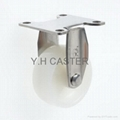 50mm Stainless Steel Caster (Rigid)