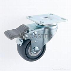 2.5TPR 輪子 /腳輪 雙剎車