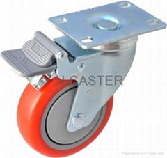 31系列 414 耐水解PU脚轮 (polyether)