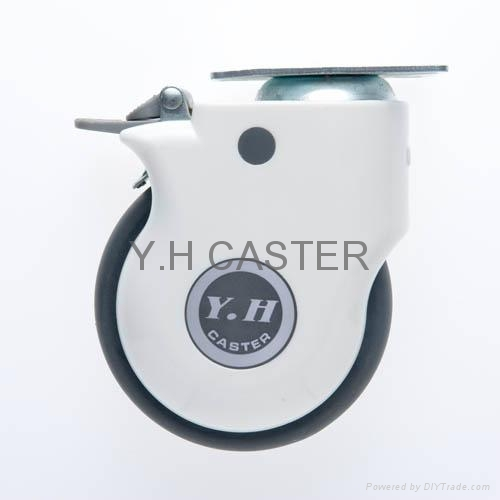 514 Elastic TPR Caster Wheel with Dust-proof Cover 2