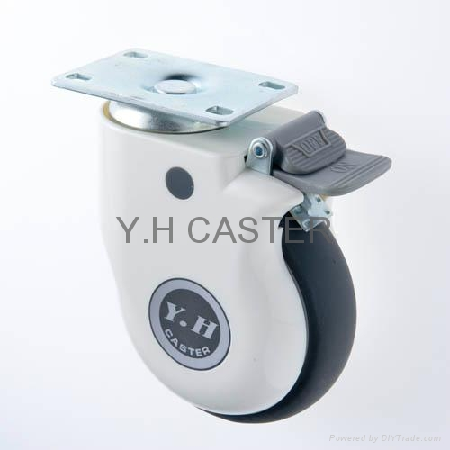 514 Elastic TPR Caster Wheel with Dust-proof Cover 3