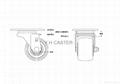 3x2美式輪+調整腳座 (裝配2顆 軸承鋼#6200) 4