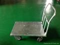 Ammonium Tube Hand Truck Trolley 60cm x 90cm Non-Folding 1