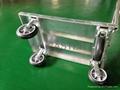 Ammonium Tube Hand Truck Trolley 60cm x 90cm Non-Folding