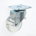 2 inch Transparent Caster (swivel plate)