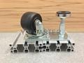 3x2美式輪+調整腳座 (裝配2顆 軸承鋼#6200) 5