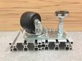 3x2 Machine Caster Wheel with Level Adjuster (with 2 steel ball bearings #6200) 5