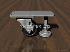 3x2美式轮+调整脚座 (装配2颗 轴承钢#6200)