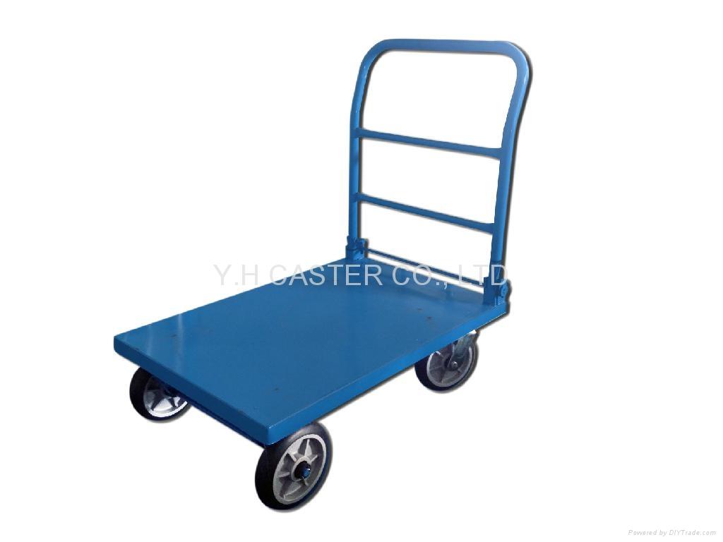 Steel Platform Hand Truck Trolley 1