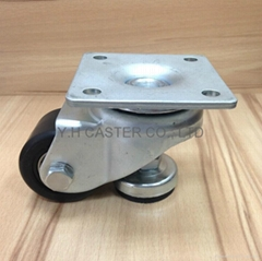 """2"""" Square Plate Caster with Level Adjuster"""