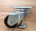 """3"""" Square Plate Caster with Level"""