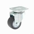 23 Series 3823 High Elastic TPR Caster (Swivel Plate)