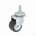 23 Series 3823 High Elastic TPR Caster (Swivel Threaded Stem)