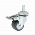 23 Series 3823 High Elastic TPR Caster (Threaded Stem with Brake)