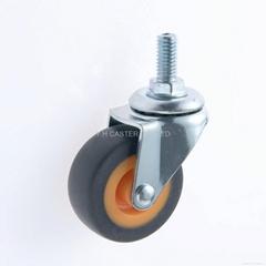 20系列 278 高弹性TPR脚轮 螺丝活动