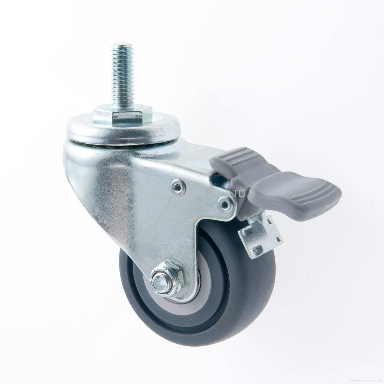 Threaded with Total  Brake