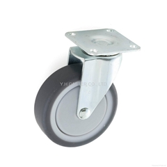 23 Series 7522 High Elastic TPR Caster (Plate w/o Brake) (Hot Product - 1*)
