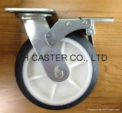 "8"" Plate with Total Brake"