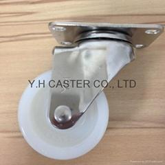 "S31 Series 3""/4""/5"" Nylon Stainless Steel Caster"