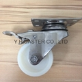 314 NL Stainless Steel Caster (Plate with Brake)