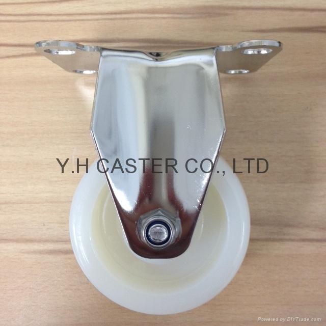 314 NL Stainless Steel Caster (Rigid)