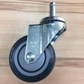 25系列 3x1 TPR 新式儀器輪(灰) 插心活動 4