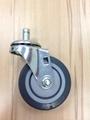 25系列 3x1 TPR 新式儀器輪(灰) 插心活動