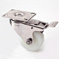 "S25 Series 2.5"" Nylon Stainless Steel Caster"
