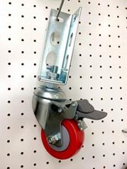 314 红轮 免螺丝角钢轮 - 刹车