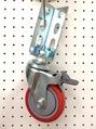 免螺絲角鋼輪 - 414 PU 輪
