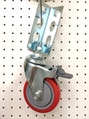 Angle Type Caster - 414 PU Caster