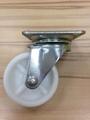2 inch PP Caster (swivel plate)-white