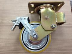 6x2 8x2 PU 鋁框 避震輪 / 彈簧輪