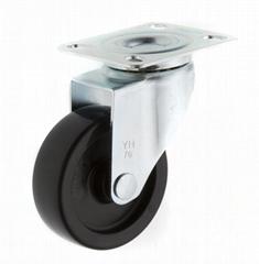 25系列 3x1 PP 新式儀器輪(黑)