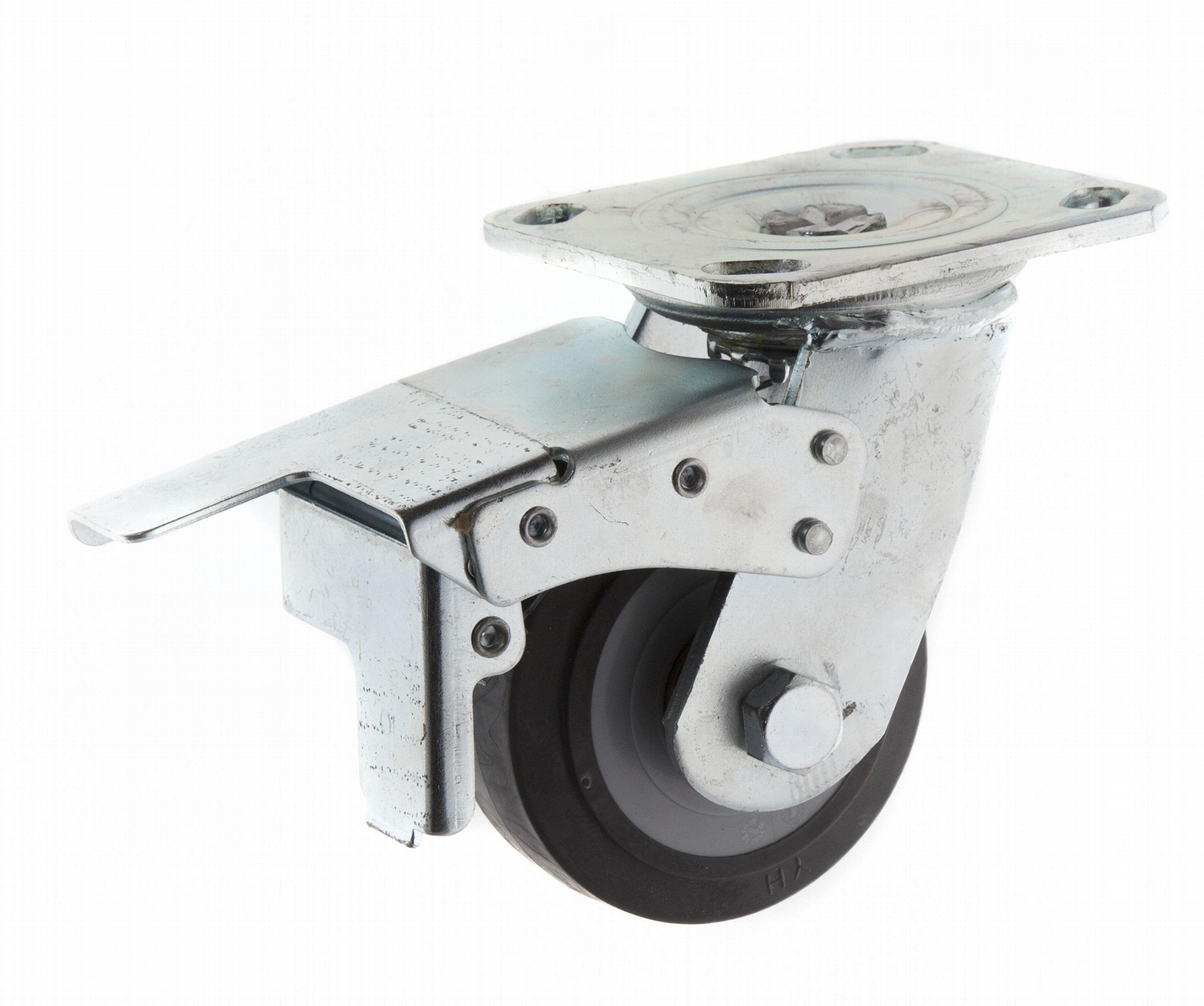 Plate with Total Brake