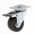 5023 ESD Caster (plate with total brake)