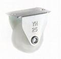 2513 Japanese Style Nylon Caster (Rigid)- white