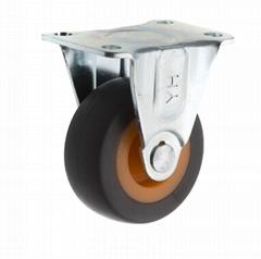 20系列 278 高彈性TPR腳輪 固定